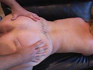 Happy BBW MILF gets her crack and ass fucked by bald dude